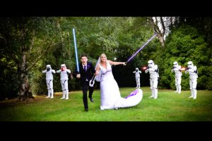 A Star Wars wedding
