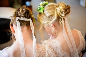 bridemaids hair do