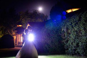Moonlight and sillohette