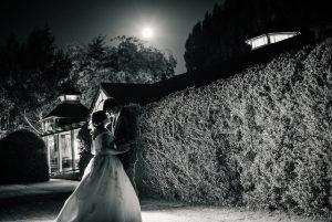 Moonlight black and white