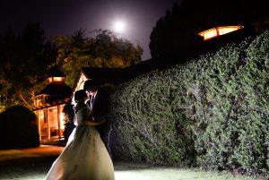 kiss in moonlight