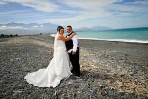 wedding on the beach side