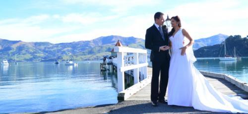 Akaroa Wedding photo 1