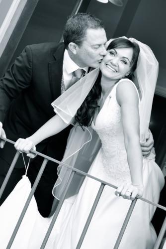romantic wedding photo 2