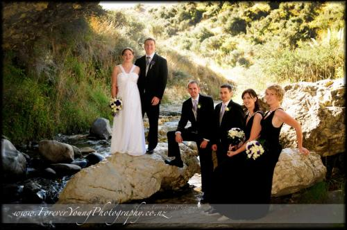 Nat and Davids wedding at Cave Stream 2